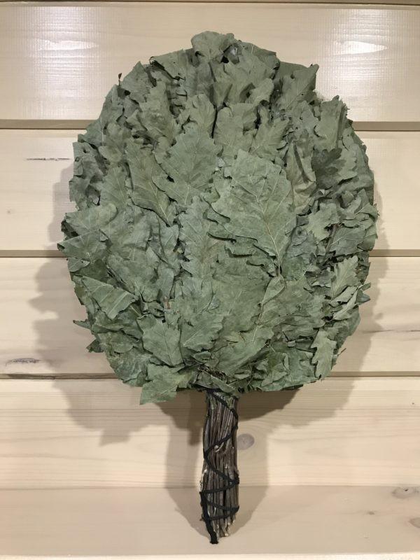 Малый веник из кавказского дуба